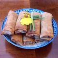 How to make Roasted Duck Spring Rolls 烤鴨春捲