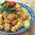 How to make Taiwanese Style Mango King Prawn 芒果蝦球