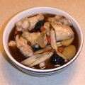 Taiwanese sesame wine chicken soup 麻油雞, cooking video