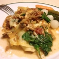 Beef and spinach lasagne 波菜牛肉千層麵