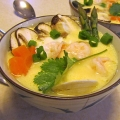 Savoury steamed egg 茶碗蒸 chawanmushi