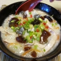 100 year old egg rice porridge 皮蛋瘦肉粥