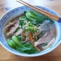 Duck with glass noodles 鴨肉冬粉 soup