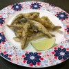 Fried Whitebait Fish 酥炸小魚 a crispy starter