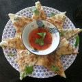 Full Moon Crispy Prawn Pancake 月亮蝦餅 Thai favourite