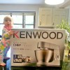 Joanne buys a new Kenwood Chef mixer ㄚ禡的新給司