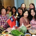 Taiwanese 10-10 National Day party 火鍋,貢丸,雙十趴