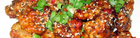 Fried sesame chicken, Taiwanese style