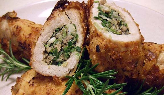 Stuffed Pork Roll, another view