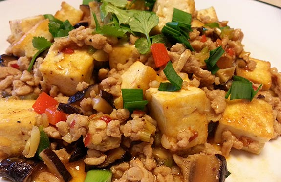 Mapo Tofu, it would make Grandma proud