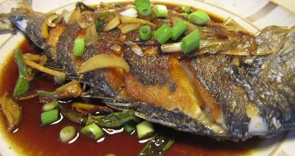 Pan Fried Sea Bream Taiwan Style