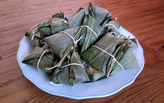 Zong Zi, cooked and ready to eat