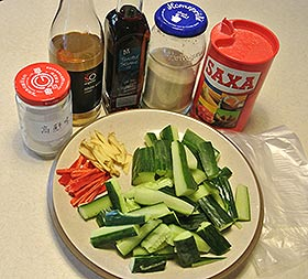 Cold Cucumber Mix ingredients
