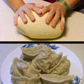 Make your own dumpling pastry