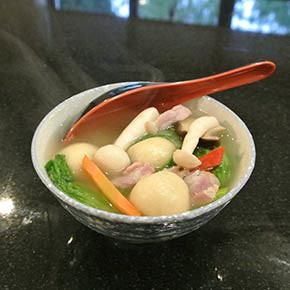 How to make Tang Yuen soup 鹹湯圓~冬至 for Winter Solstice