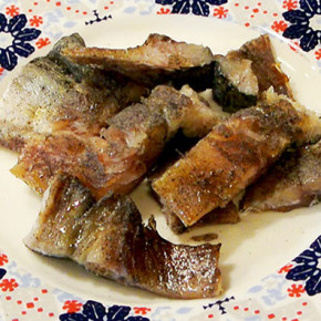 Salty Fish (Mackerel) 自製鹹魚 Taiwan style